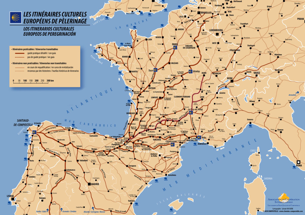 French-pilgrimage-pilgrim-map